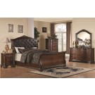 Maddison Sleigh 4-Piece Bedroom Set