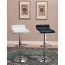 Set of 2 Modern Adjustable Bar Stools