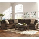 Henry Chocolate Sectional