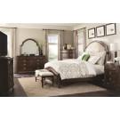 Sherwood Upholstered Headboard 4-Piece Bedroom Set