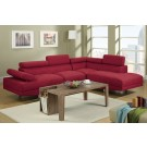 Red Rose Sectional
