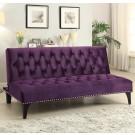 Michigan Purple Futon