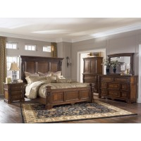 Foxdown Panel Bedroom Set