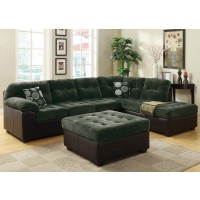 Layce Olive Gray Sectional