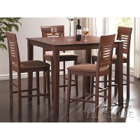 5 Piece Sutton Counter Height Dining Table Set