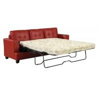Angelica Red Sofa Sleeper