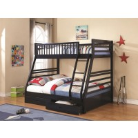 Cudi Navy Blue Bunk Bed