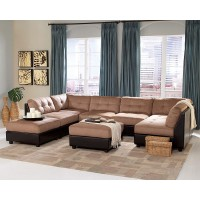 Claude Two Toned Sectional