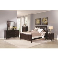 Simon Brown 4-Piece Bedroom Set