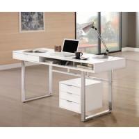 Contemporary White Desk