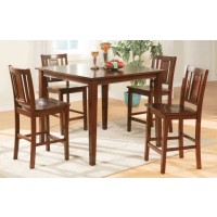 Simple Elegance Counter Height Dining Set