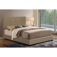 Chad Taupe Bed