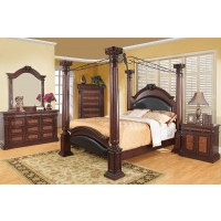 Grand Prado 4-Piece Bedroom Set