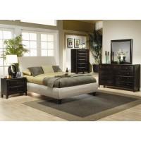 Phoenix Neutral 4-Piece Bedroom Set