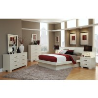 Jessica White 4-Piece Bedroom Set