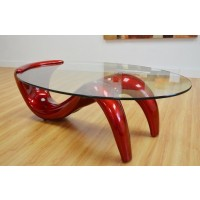 Mia Red Coffee Table