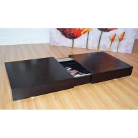Platner Coffee Table with Storage