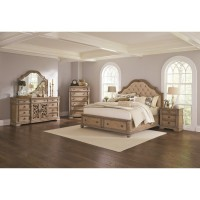 Opulent Storage Collection 4-Piece Bedroom Set