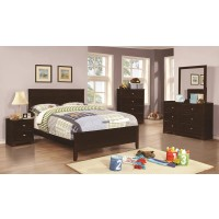 Ashton Cappuccino 4-Piece Bedroom Set