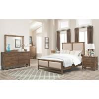 Bridgeport Upholstered 4-Piece Bedroom Set