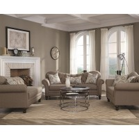 Carnahan Sofa and Loveseat Set