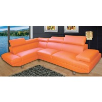 Lucy Orange Sectional