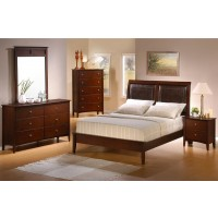 Tamara 4-Piece Bedroom Set (Upholstered Bed)