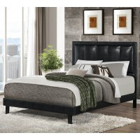 Granados Leatherette Bed