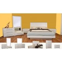 Verona Maple 4-Pieces Bedroom Set