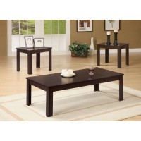 Simplicity 3-Piece Coffee Table Set