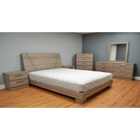 Athens 4-Piece Platform Bedroom Set