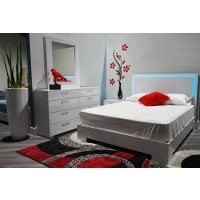 LED Lights Bedroom Set