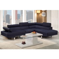 Sky Dark Blue Sectional