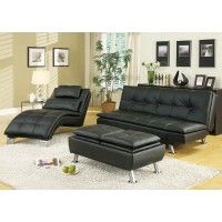 Empire Black Futon