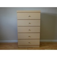 5-Drawer Chest w/ 6 Color options