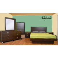 Napoli Platform 4-Piece Bedroom Set