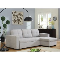 Hanna Beige Sleeper Sectional
