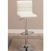 Urban White or Black  Upholstered Barstool
