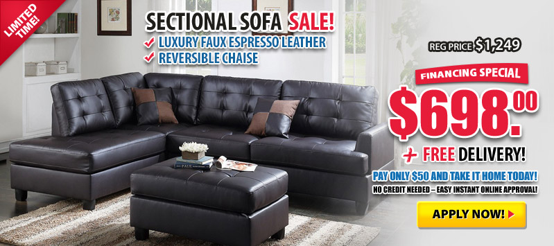 Sectional Sale